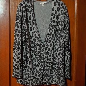 Plus size 24/26 leopard print sweater